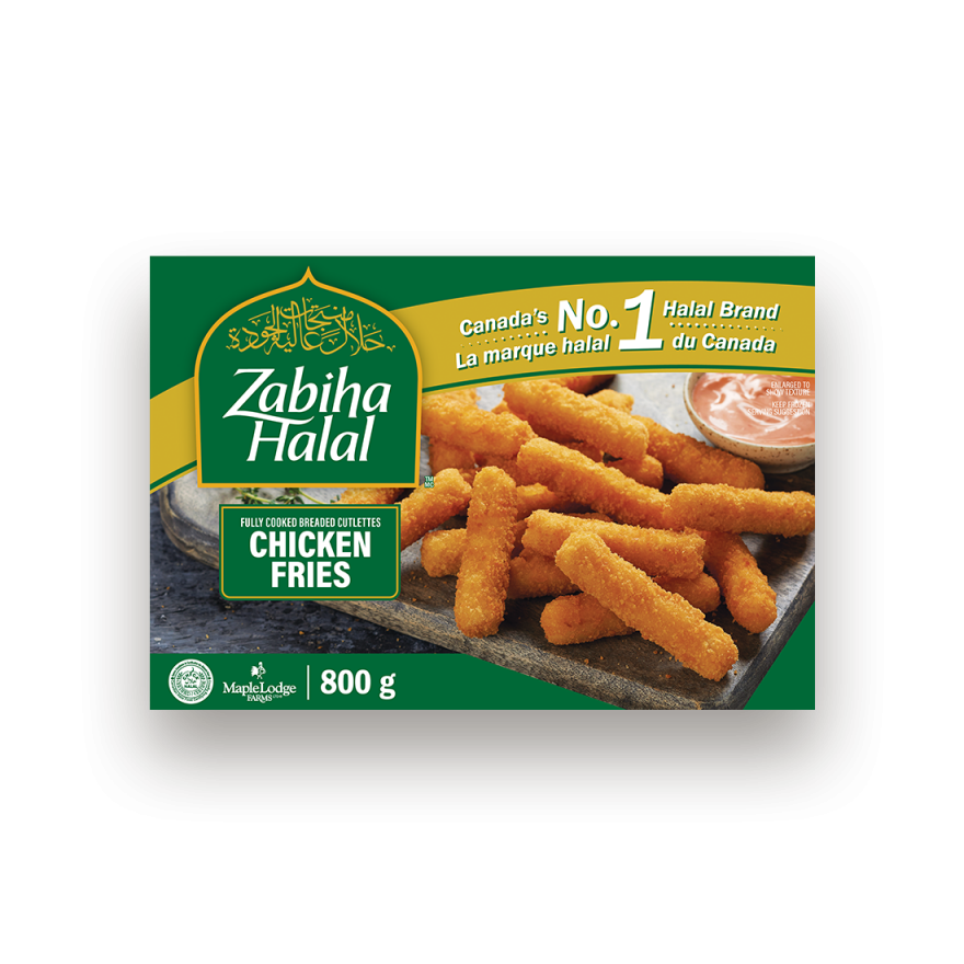 A package of frozen Chicken Fries