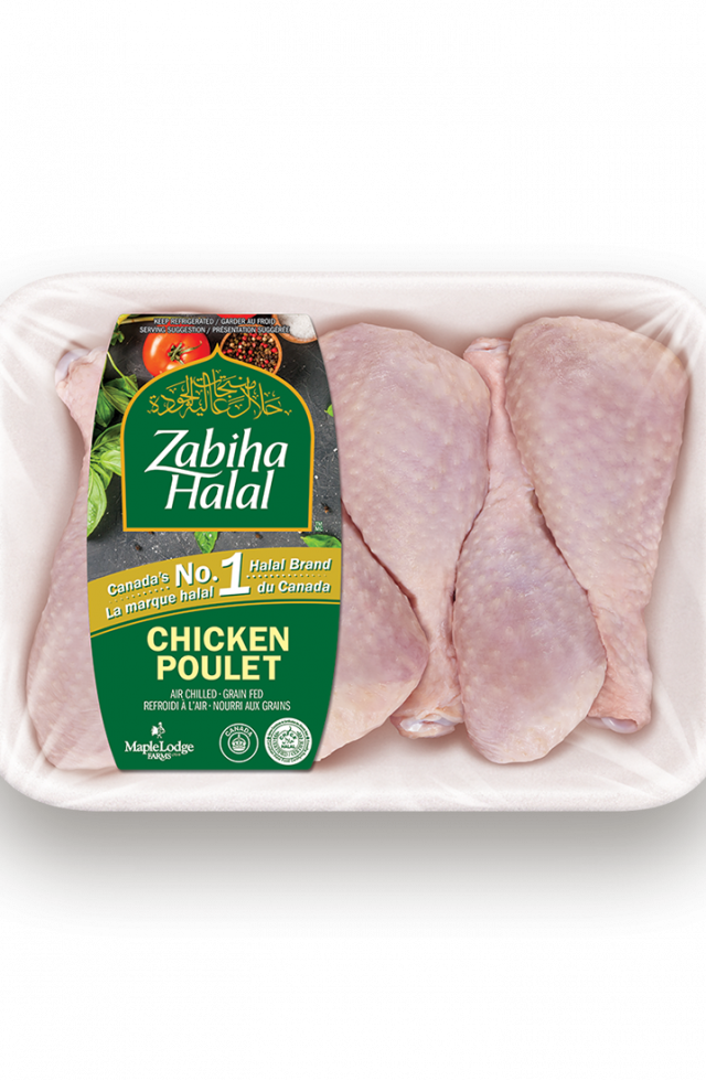 A package of fresh Chicken Drumsticks