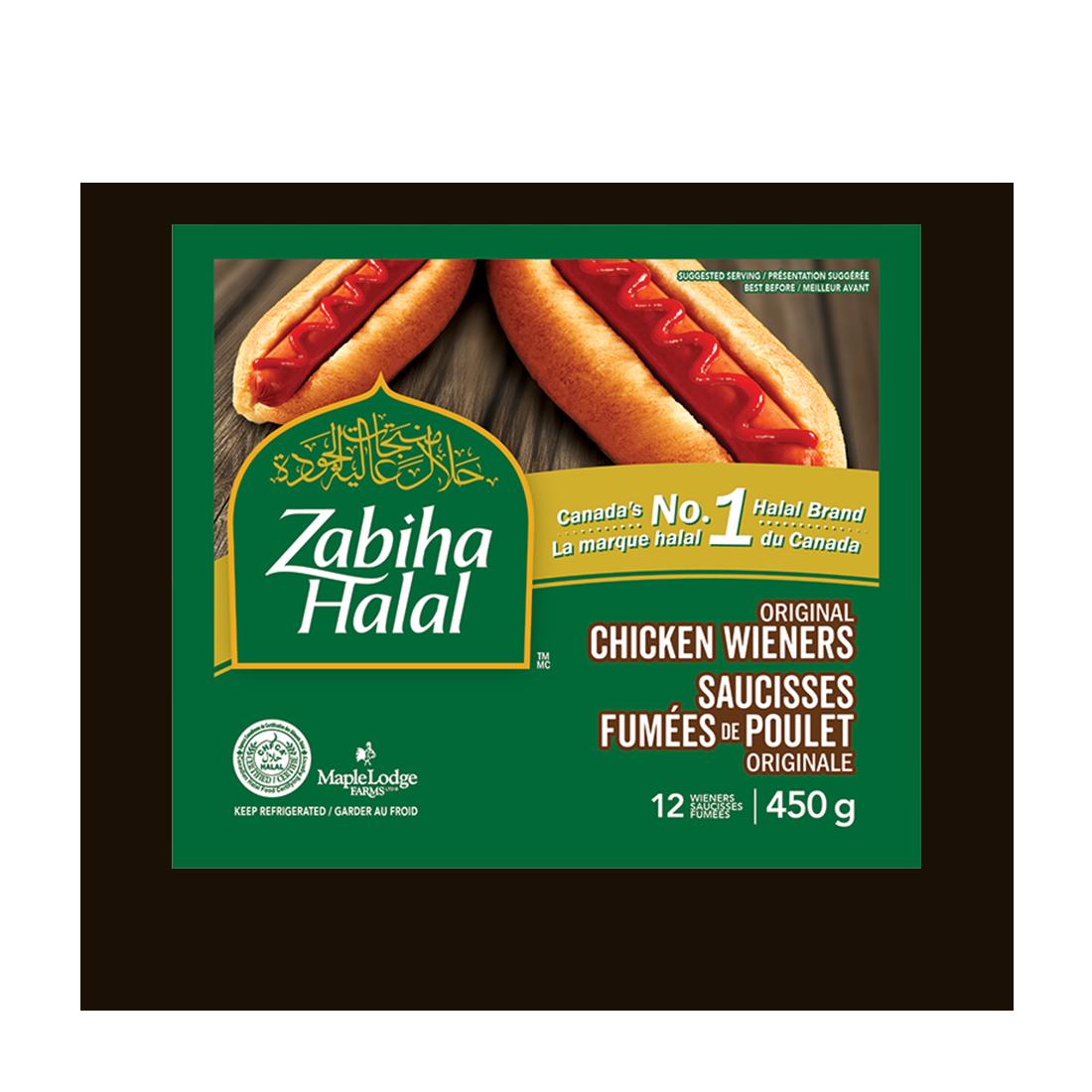 A package of Original Chicken Wieners