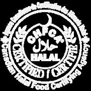 Le logo de l'Agence canadienne de certification des aliments halal