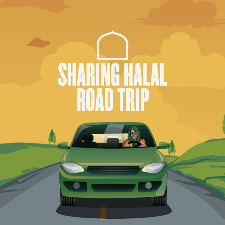 Sharing Halal Road Trip